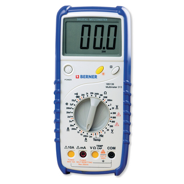 Digital-Multimeter mit Temperaturanzeige 600 V